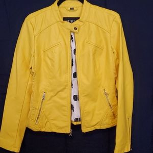 NWT Guess Faux Leather Moto Jacket
